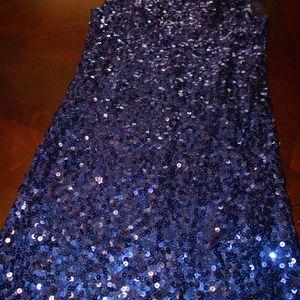 Forever 21 Dresses - Blue Sequence Dress
